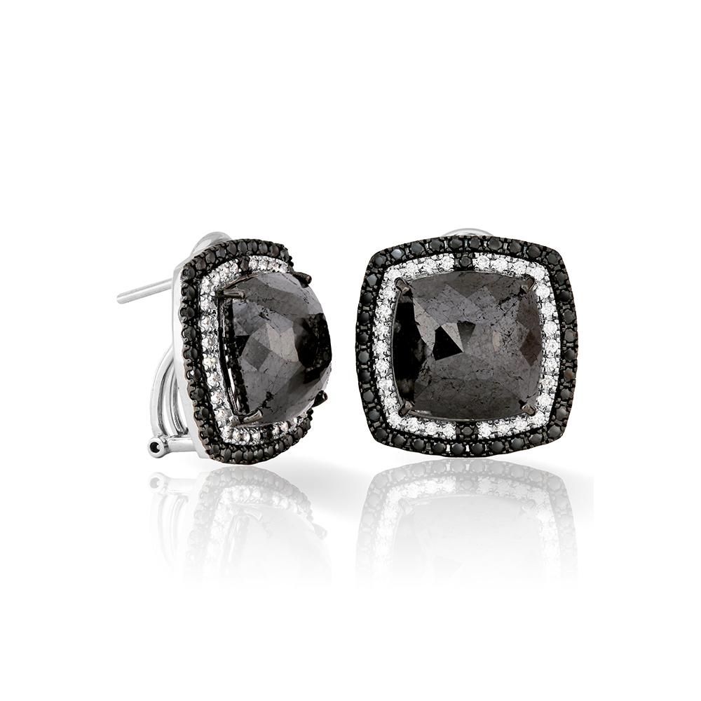 karch-joyeros-aretes-diamantes-negros-cabuchon